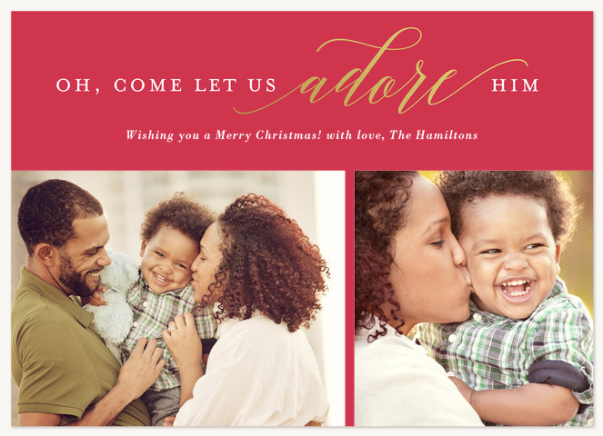 Christmas Grace Personalized Holiday Cards