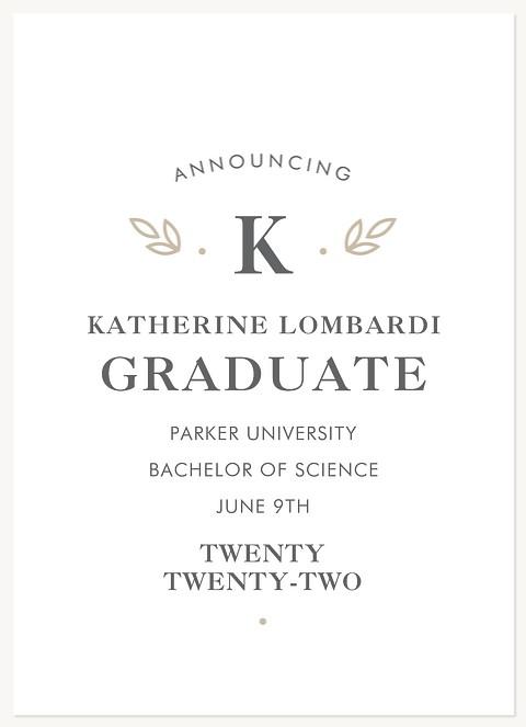 Scholarly Laurels Graduation