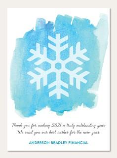 Snowy Watercolor