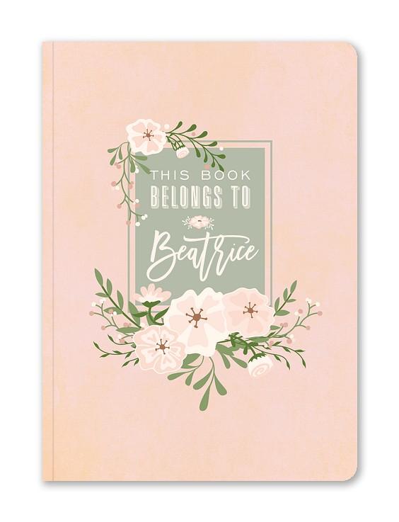 Fresh Blossoms Custom Journals