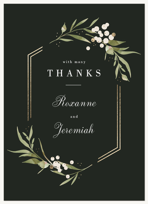 Sonoma Valley Thank You Cards