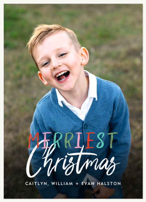Festive Mix Personalized Holiday Cards
