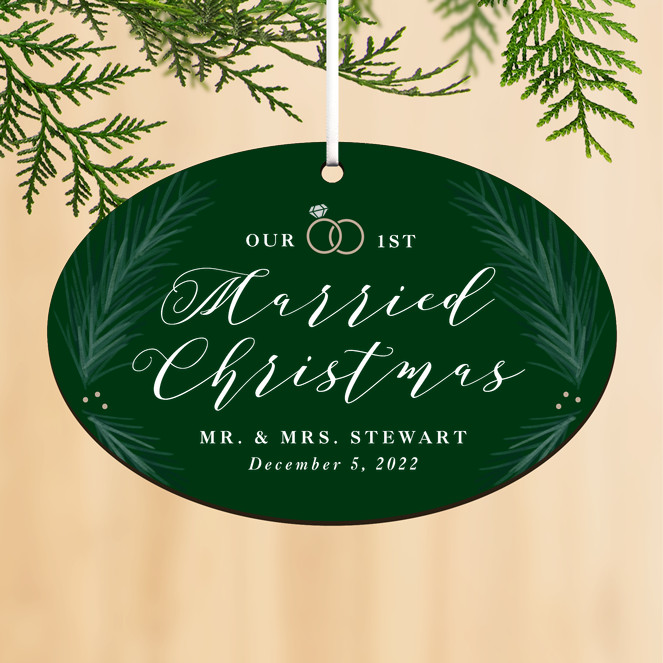 Very Married Personalized Ornaments